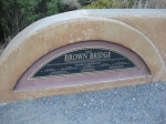Brown as in Mr. Brown Bridge