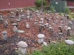 Rock garden in Yountville